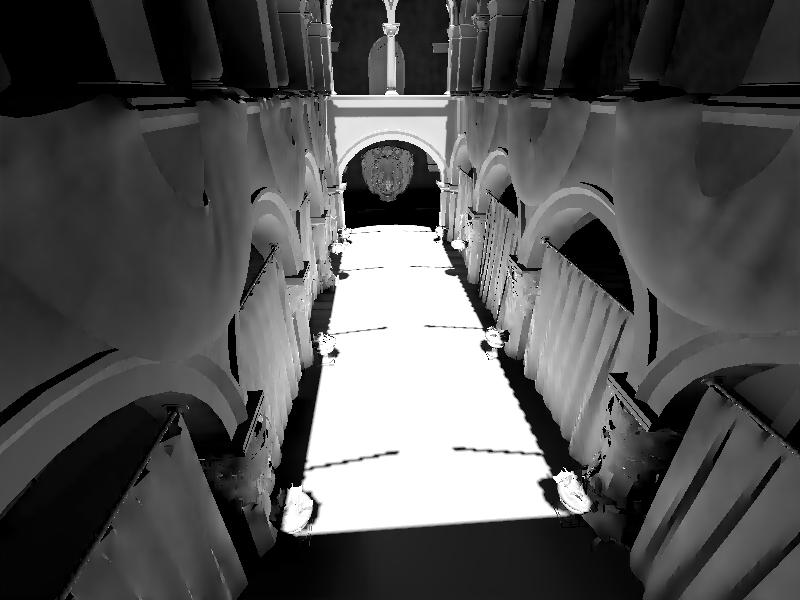 Неполные теневые карты. | Объемы распространения света для непрямого освещения в режиме реального времени.