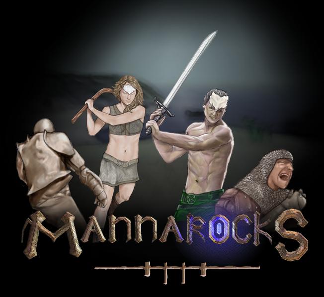 mr-logofinal | Mannarocks [Unity fantasy beat'em'up]