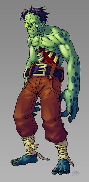 Concept_NormalZombie_0 | MakaR`s drawing...