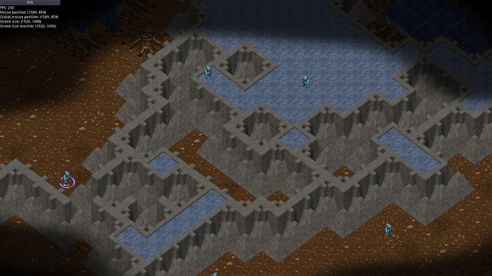 темные земли, бетонное возвышение и более вертикальный обзор | Экспериментальная sci-fi RTS (переименовано)