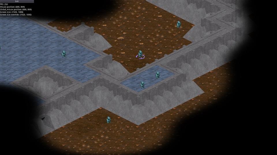тип карты: темные земли, бетонное возвышение (blender) | Экспериментальная sci-fi RTS (переименовано)