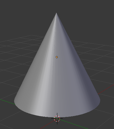 cone2 | Создание конуса в Blender