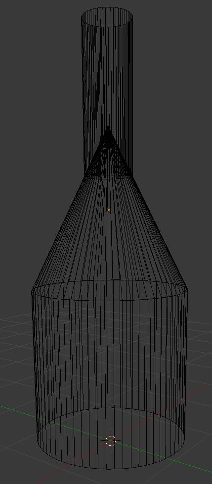 cone_topology | Создание конуса в Blender