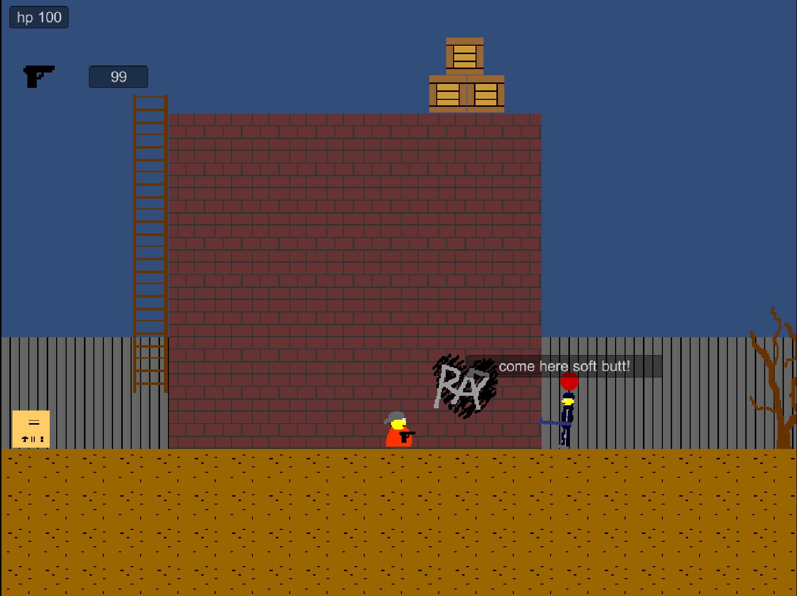 crap1 | Crap Hero proto 1 ( нетолерантная игра мечты с матюгами дерьмом и битьем по яйцам )