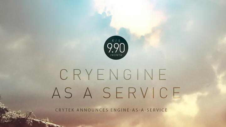 CryEngine как сервис | Crytek переводит CryEngine на подписку.