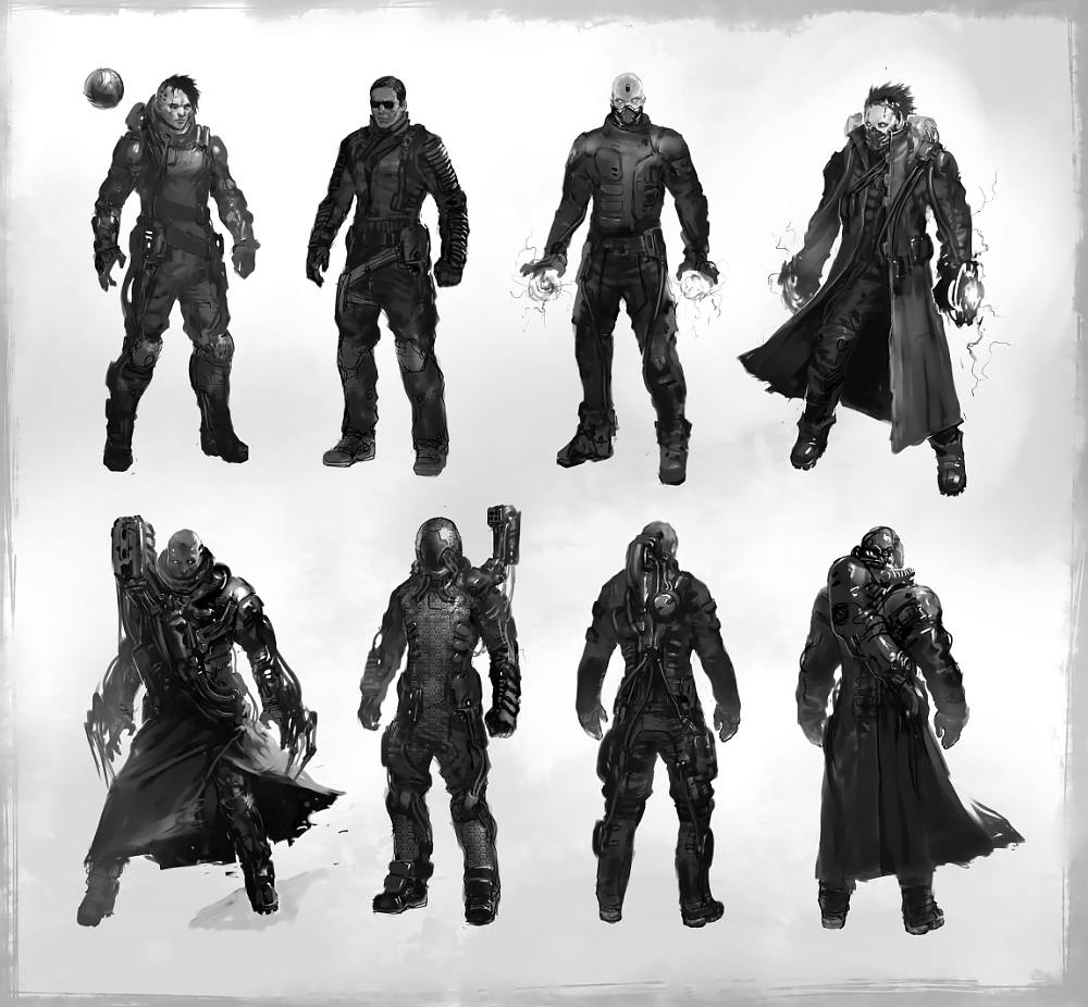 Cyberpunk concept art caracter_02