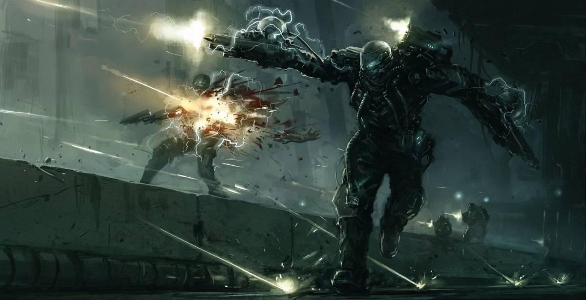 Cyberwar | 2D, концепт-художник/арт-лид