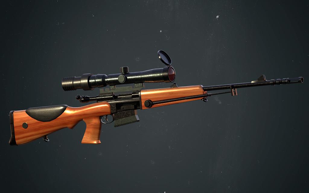 Снайперская винтовка FR F-1