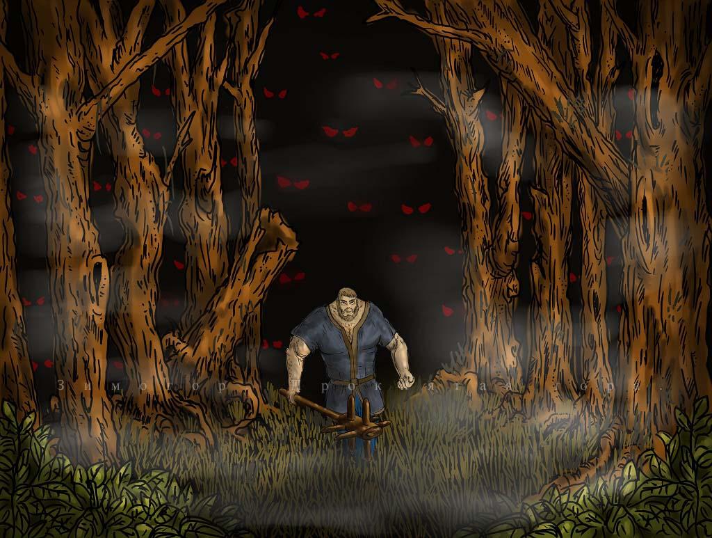 dark forest | Требуются программист, геймдизайнер (не актуально).