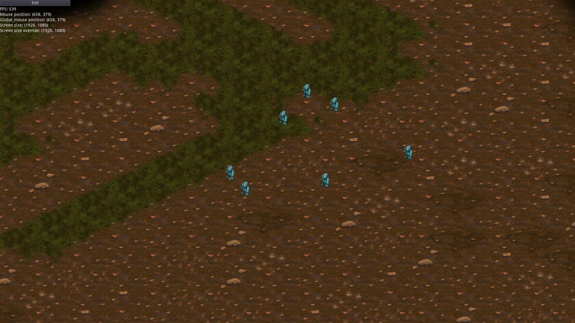 тип карты: темные земли, земля и трава | Экспериментальная sci-fi RTS (переименовано)