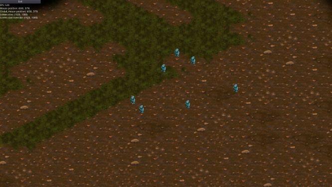 тип карты: темные земли, земля и трава (уменьшенный) | Экспериментальная sci-fi RTS (переименовано)