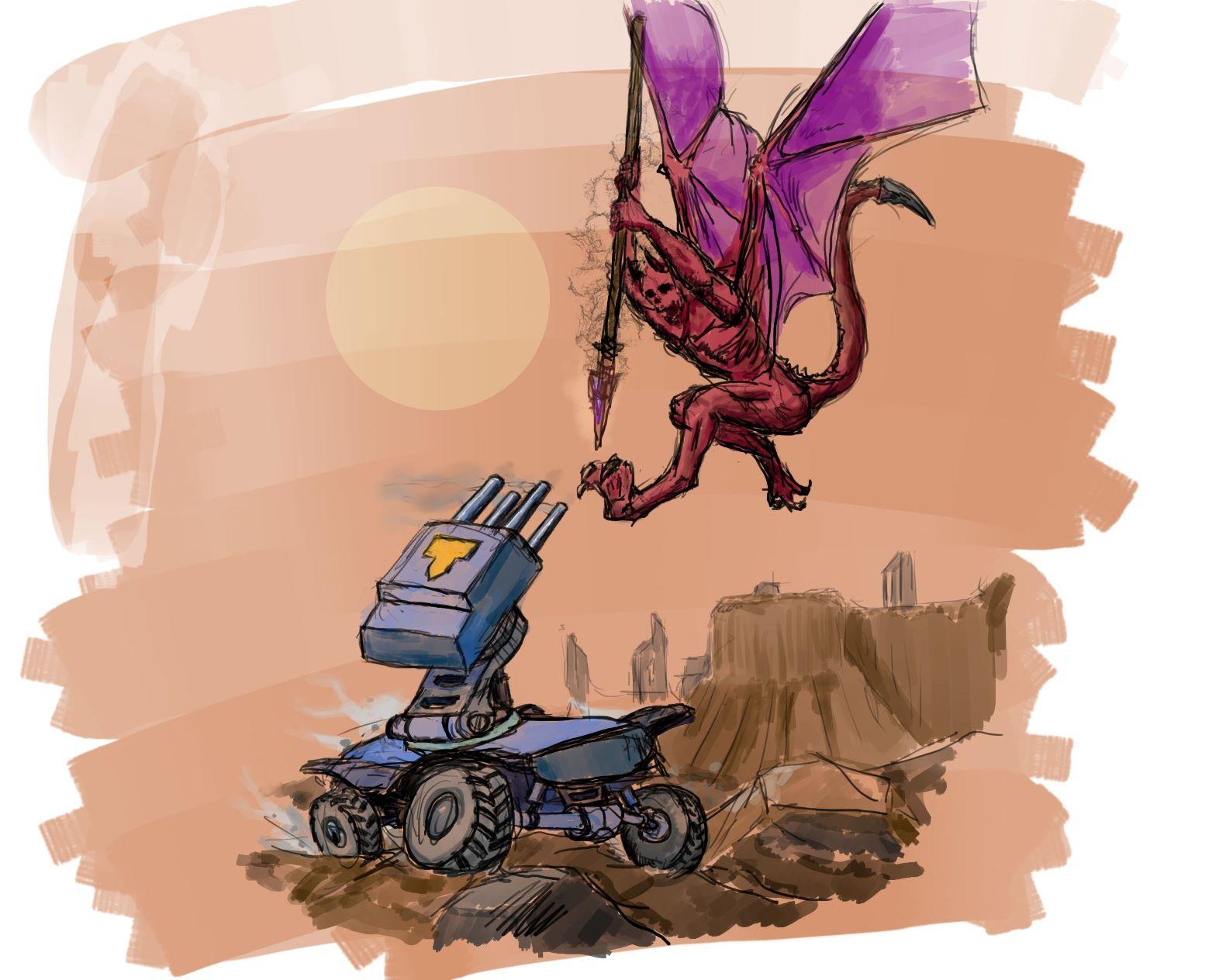 rover_vs_demon | Экспериментальная sci-fi RTS (переименовано)