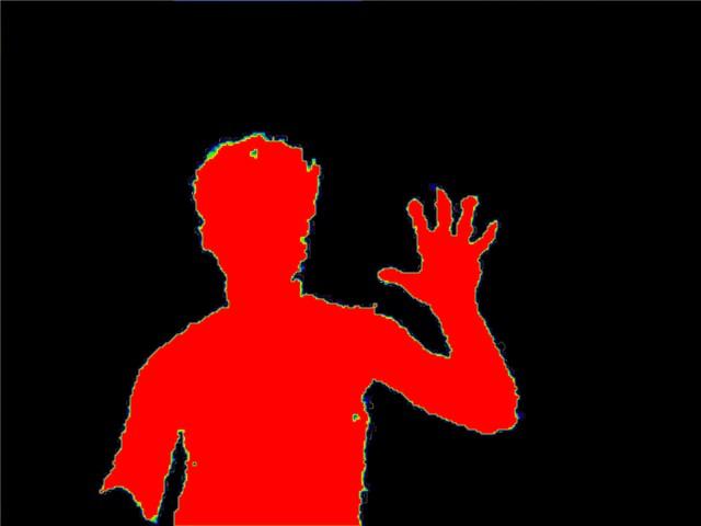 Kinect depth visualized | Kinect SDK. Часть первая