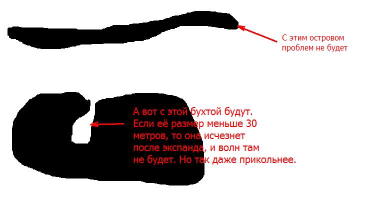 df2 | Расчёт направления прибоя