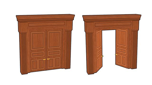 doors | 3d моделлер