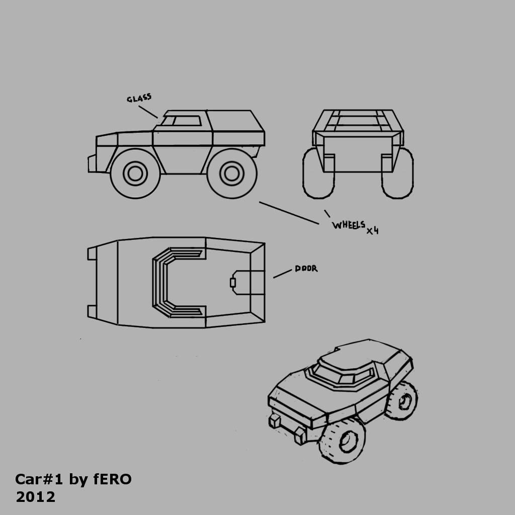 FPS Shooter - Car #1 Concept