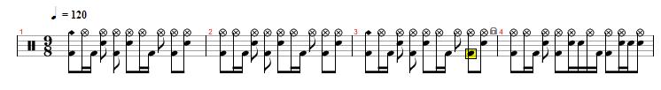 drum | Девять восьмушек