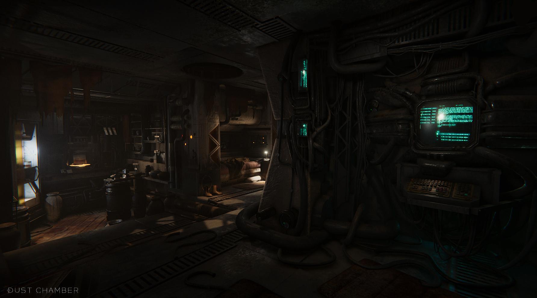 Dust_chamber_screenshots_final_03 | Dust Chamber : Бесконечная Структура, пыль, спуск в бездну