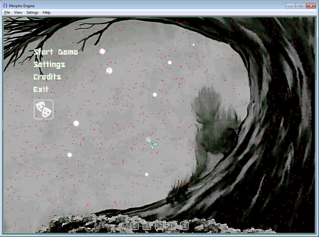 Ed_Scr_1 | Morpho Engine - 2D софтверный игровой движок