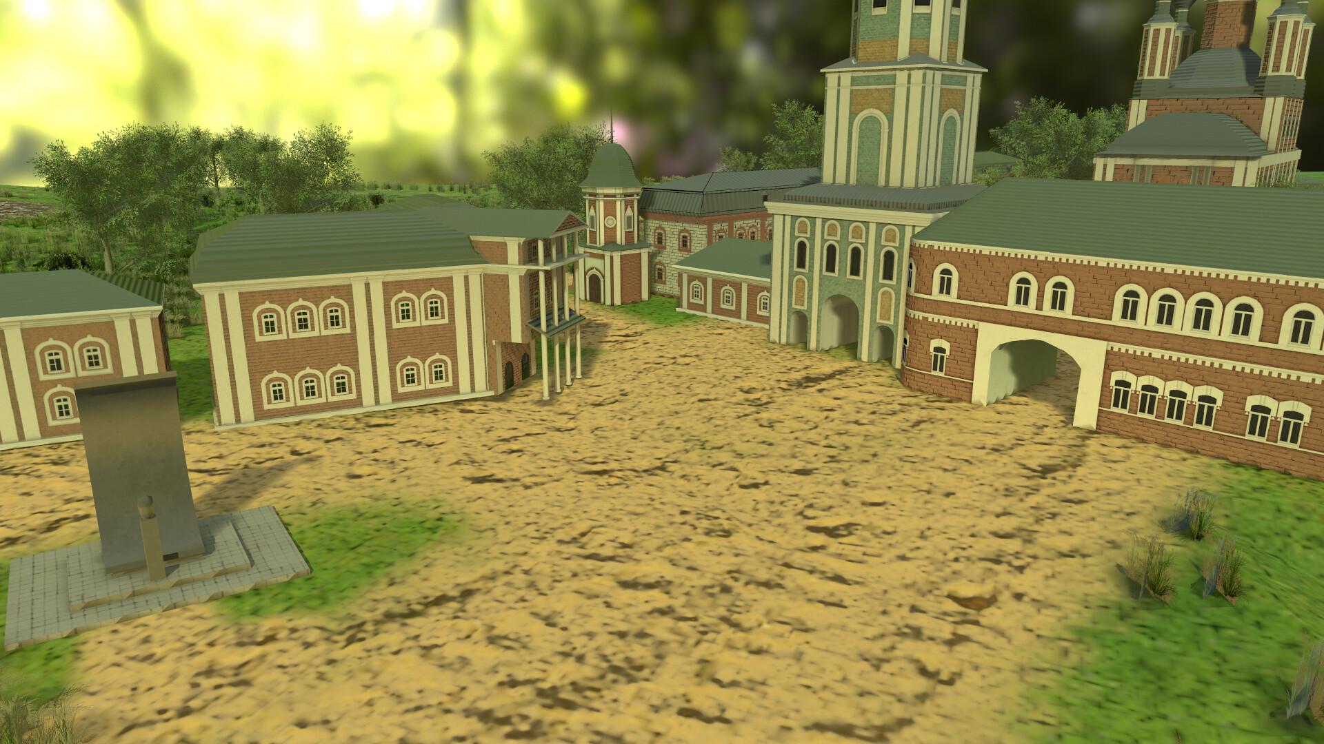 церковь 3   3D Artist