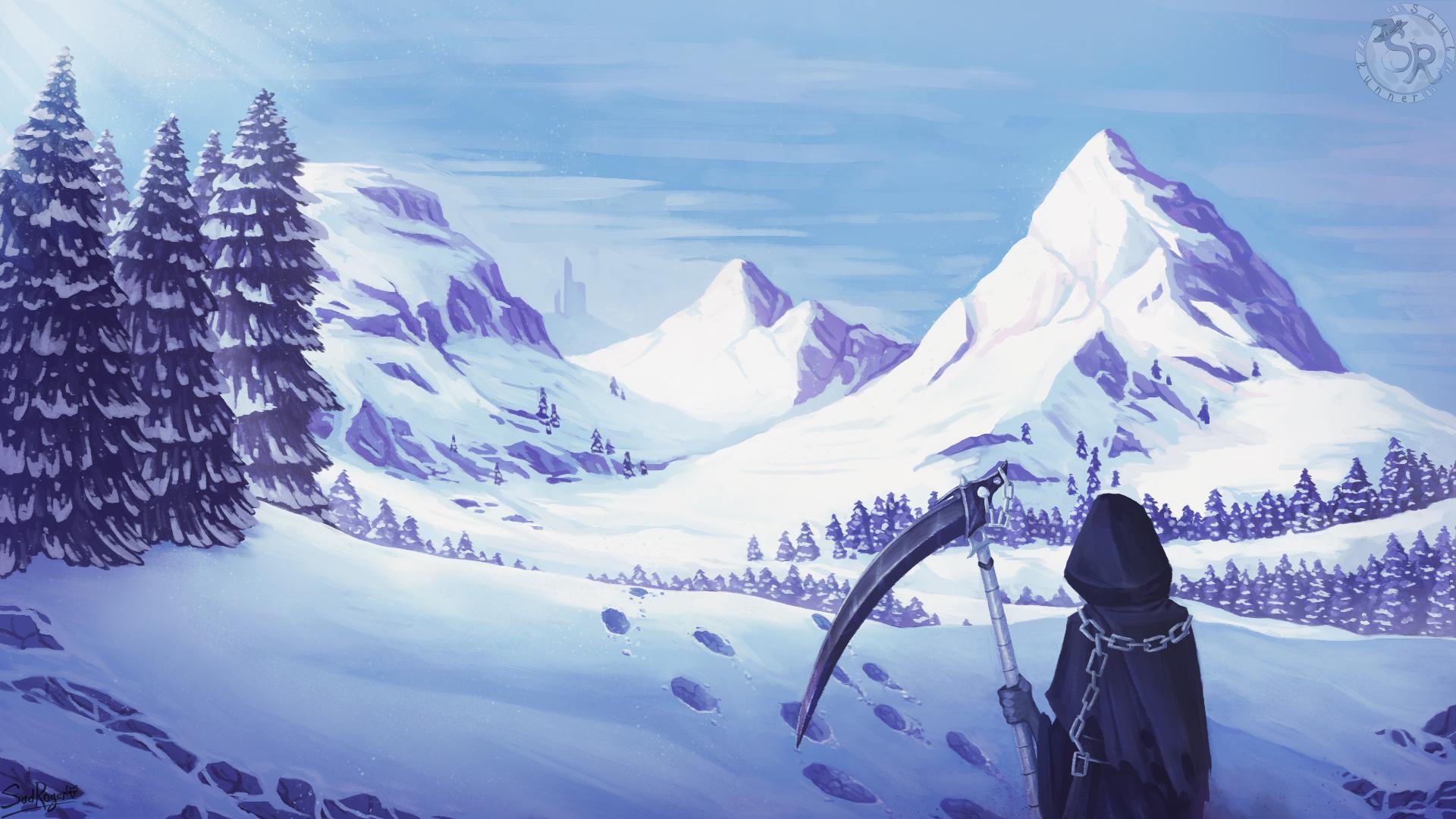 зима | SOUL RUNNER (ищем 2D художников)