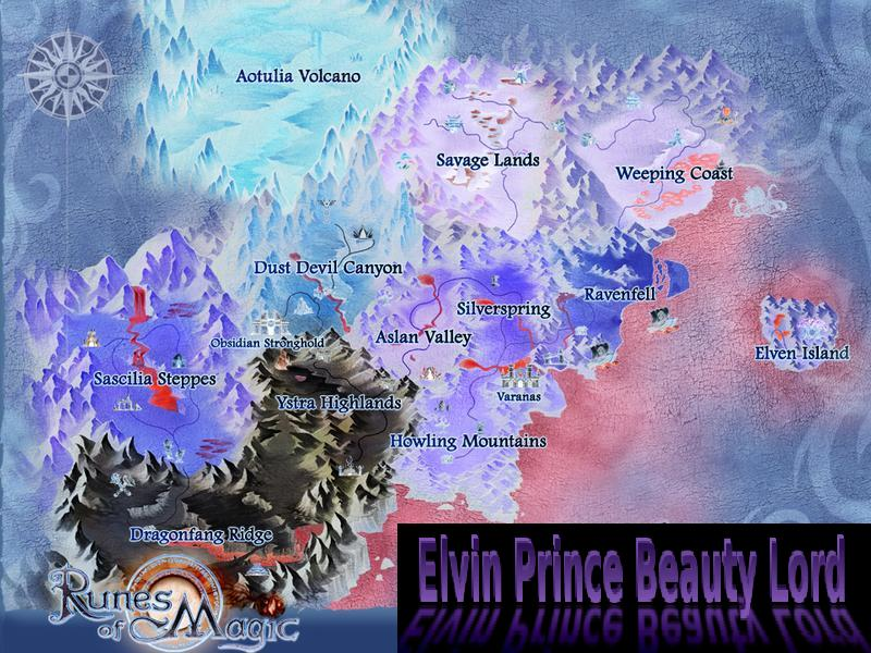 Elvin Prince Beauty Lord | Magic Navigation