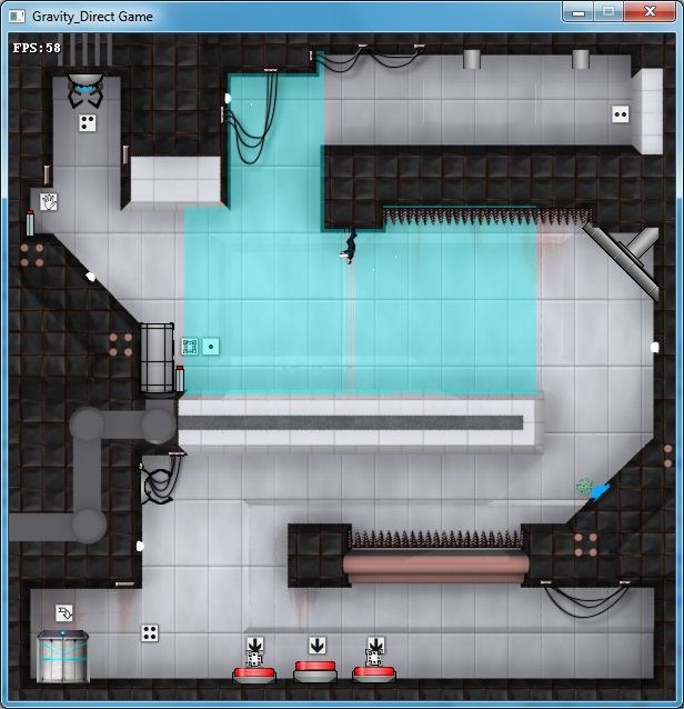 EnergyChamber Screenshot | Gravity Direct - Конкурс 2009