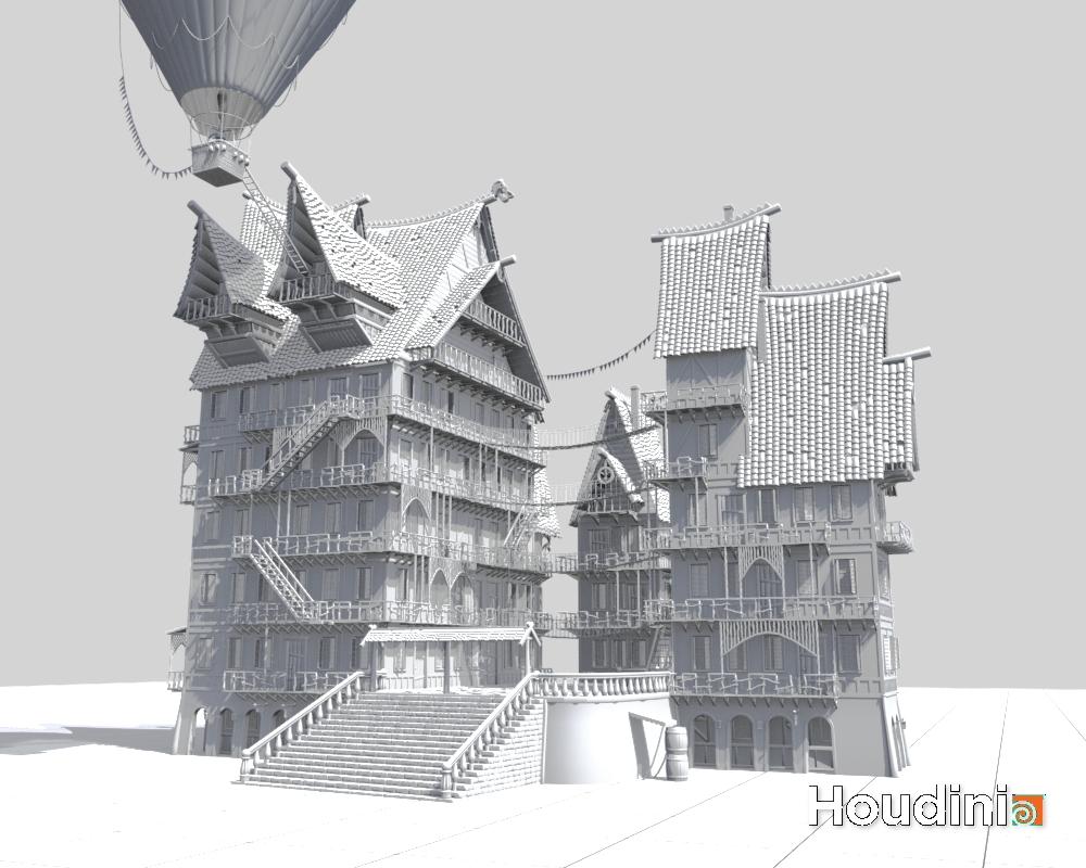 Estate_3 | Houdini technical artist / 3D modeller
