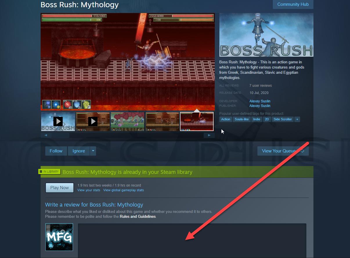 screen_boss | MannaRites [beat'em'up][Unity][Steam]