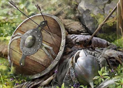 fallen warrior | 2D Artist |концепт , иллюстрации , локации