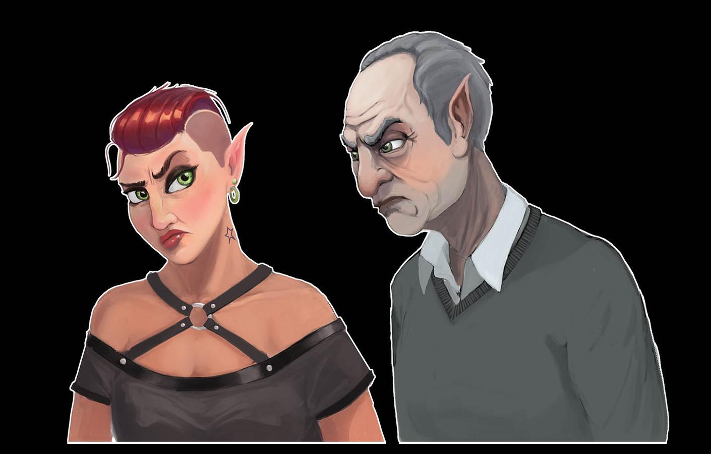 Father1 | Концепт-художник. Разные стили. 2D (в основном) + 3D (изредка)