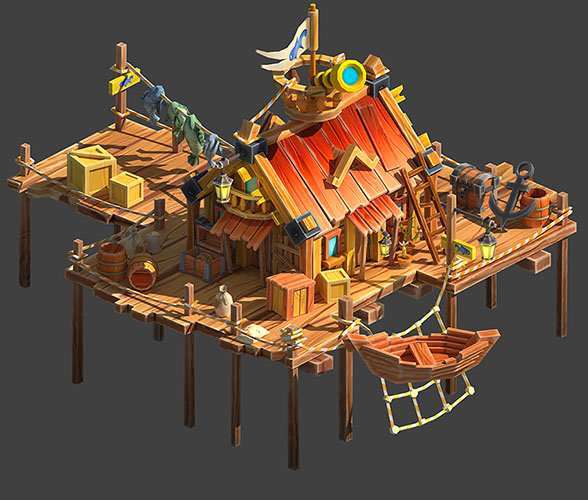 Fishing_Lodge | 3D artist