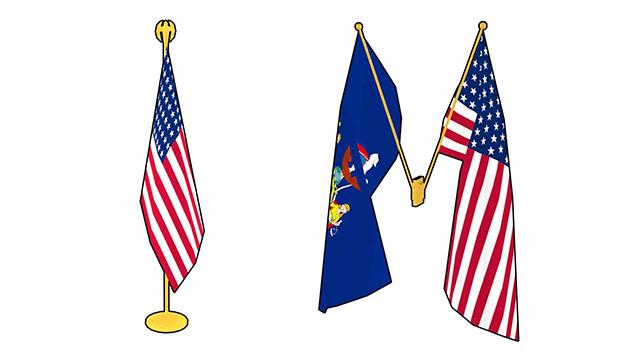 flags | 3d моделлер