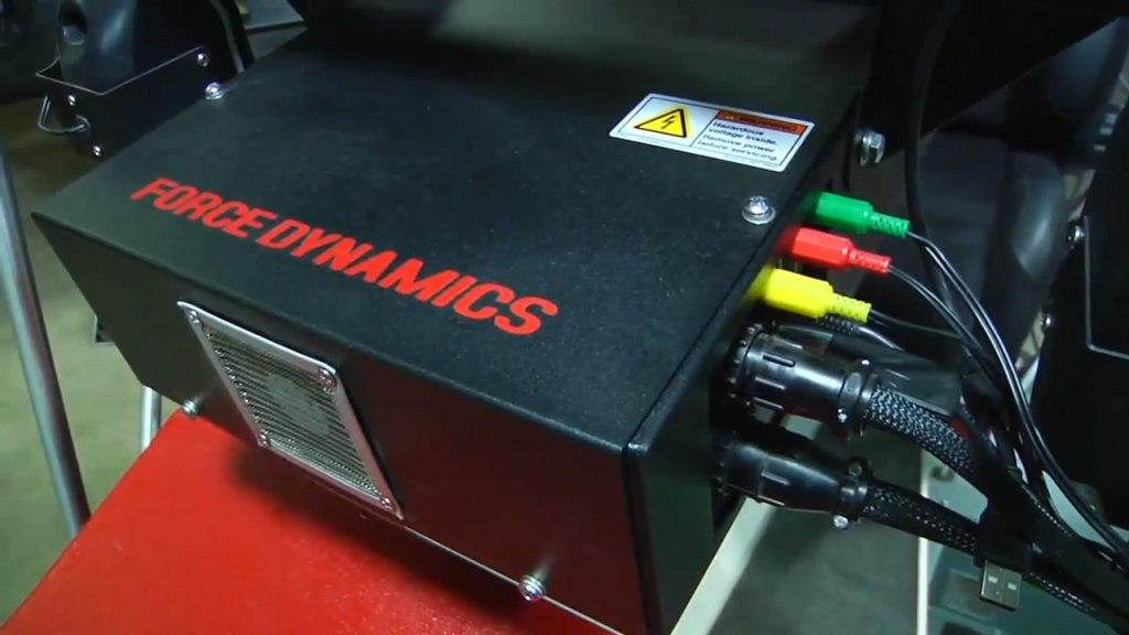 Force Dynamics 401cr img12   Motion Pro и симулятор F-1, подвижная платформа ощущений