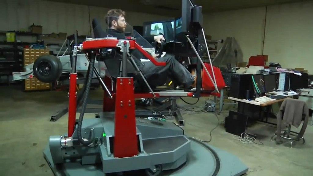 Force Dynamics 401cr img9   Motion Pro и симулятор F-1, подвижная платформа ощущений