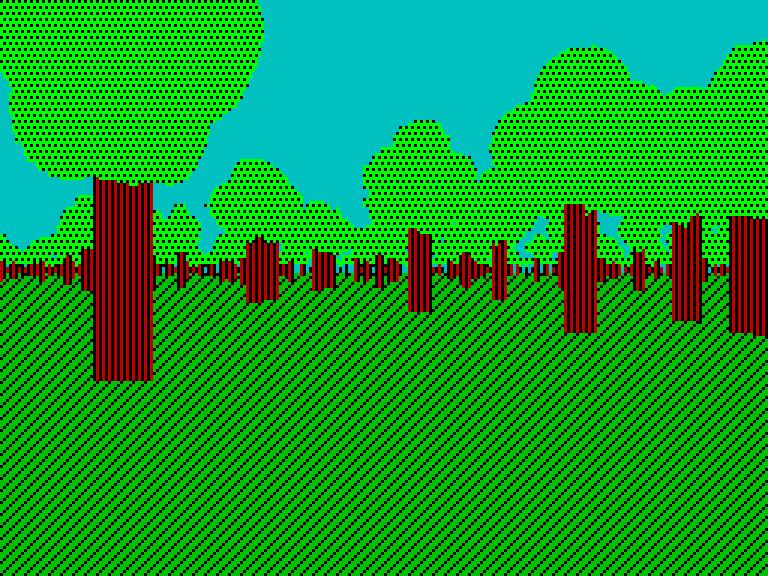 forest-2 - без эффектов | Spectrum style по-современному [исследовательский проект]