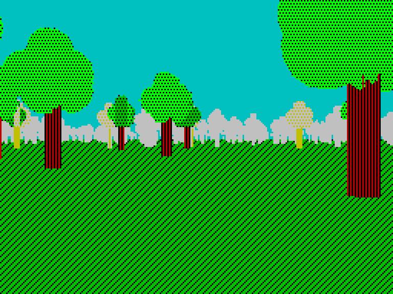 forest-2 - с туманом | Spectrum style по-современному [исследовательский проект]