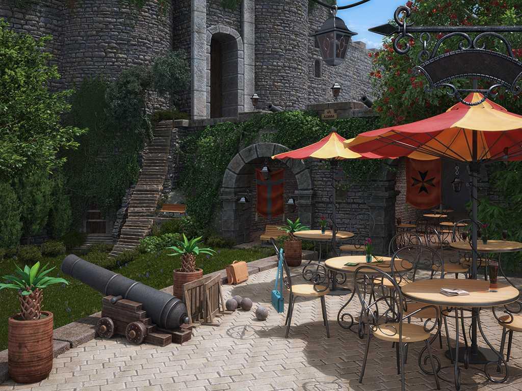 Fort_small | 3d Artist - локации, окружение и объекты.