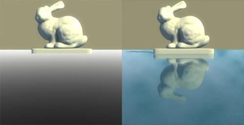 Визуализация коэффициента Френеля и финальное изображение. | Коэффициенты Френеля