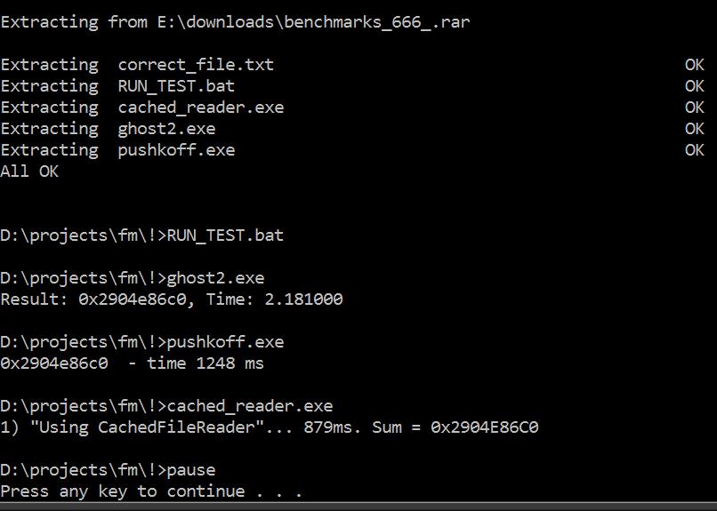 fresh test for benchmarks 666)