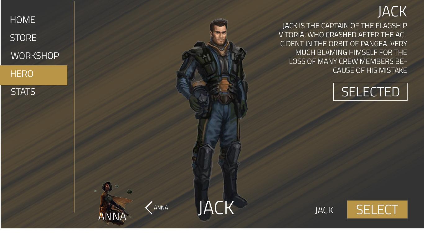 Pangea Hero Select