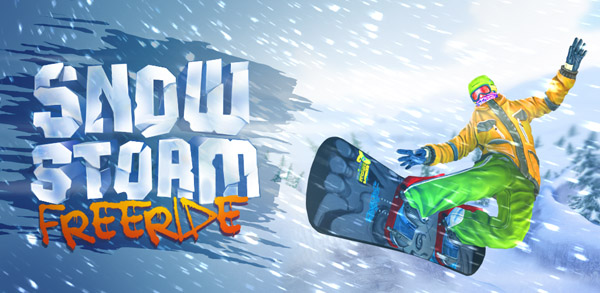 banner | Вышла Snowstorm:  Freeride.  Игра  от отечественных разработчиков .