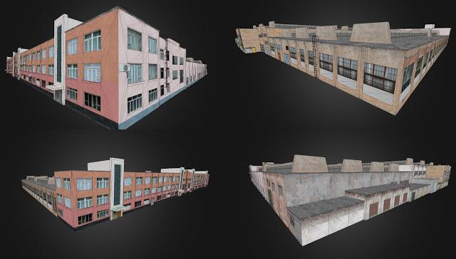zavod   3D моделлер HI-LOW poly