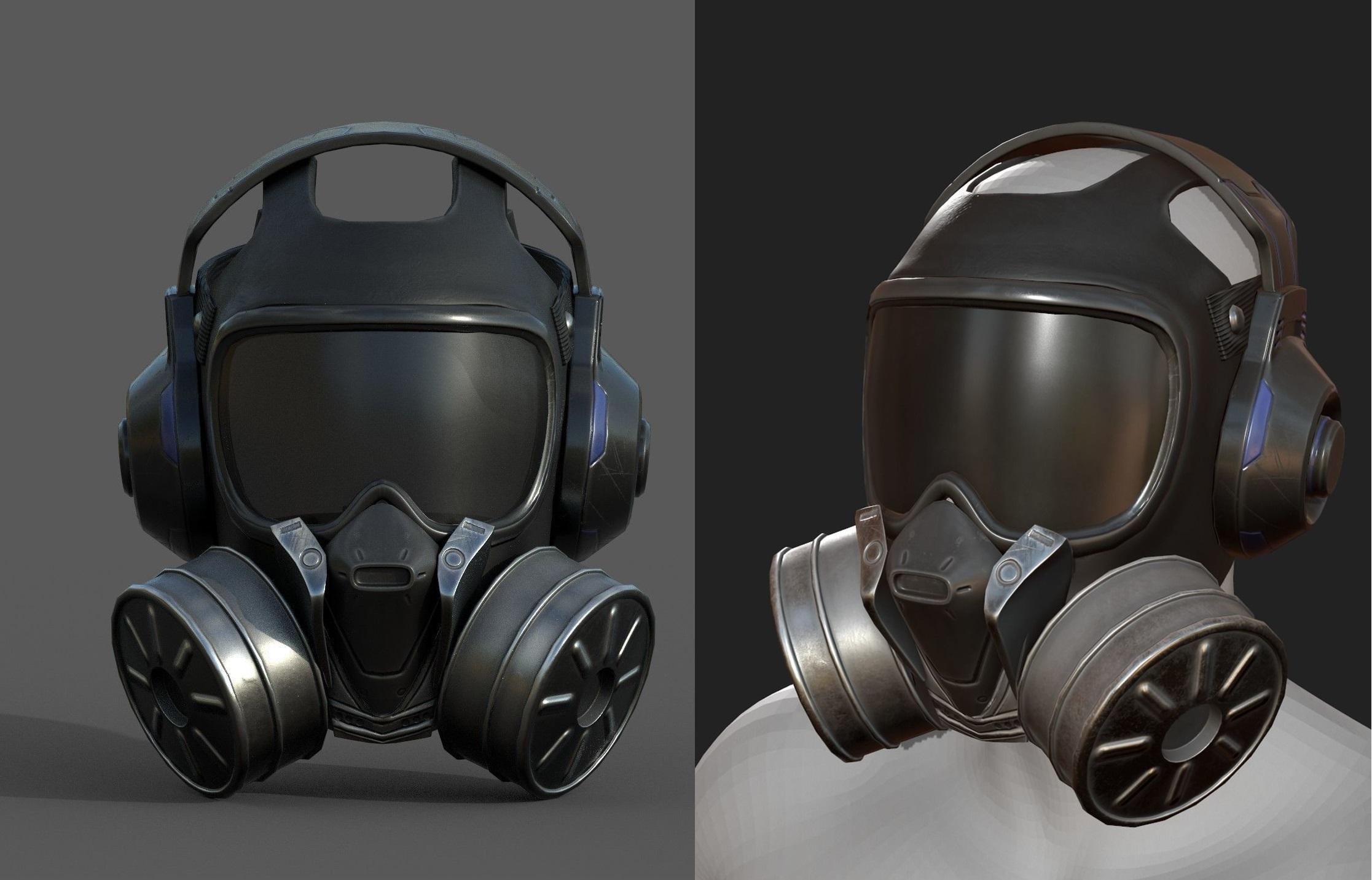 gas-mask-helmet-3d-model-scifi-3d-model-low-poly-obj-mtl-fbx-ma-mb (1) | 3d artist