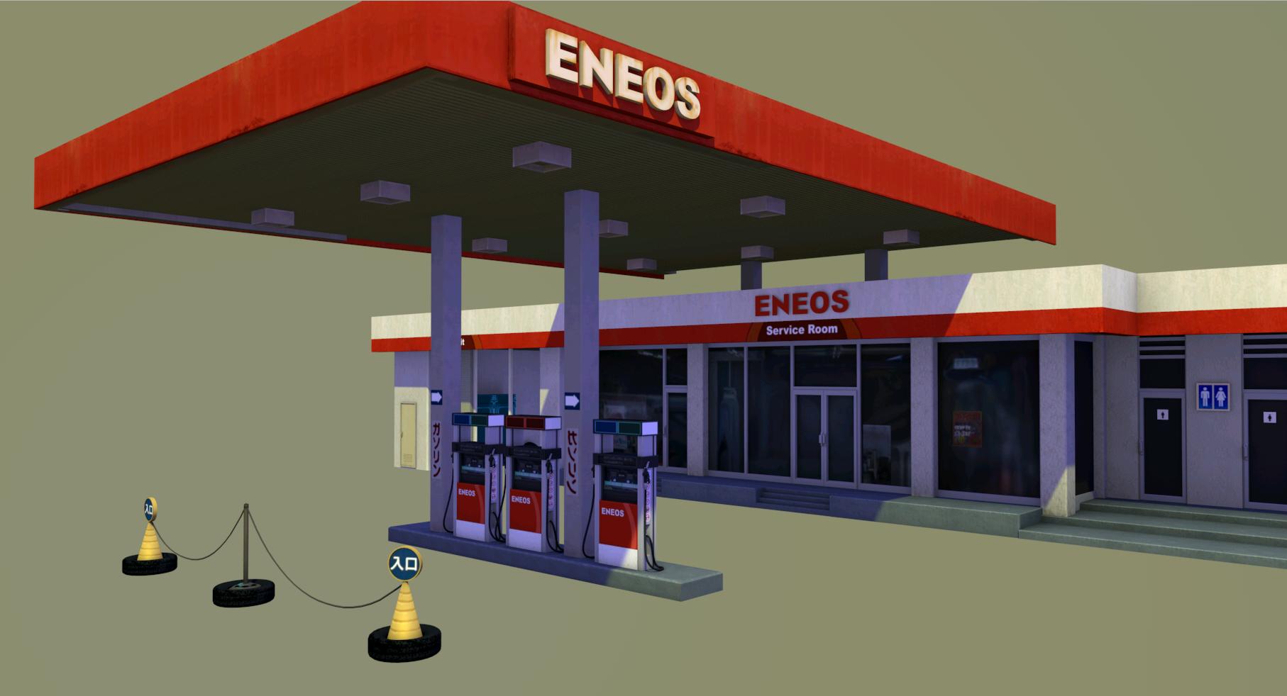 gas_station_prev0 | 3d Art погроммиста