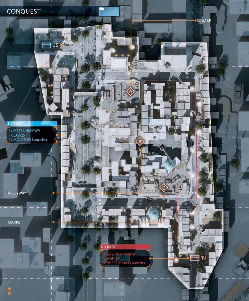 Базар | Ошибки геймдизайна. Почему Battlefield-3 — не шедевр.