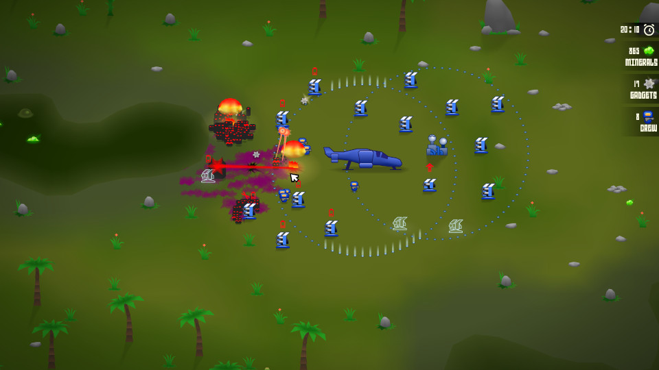 "screenshot | Good. Bad. Defend! [конкурс ""Tower Defense""]"