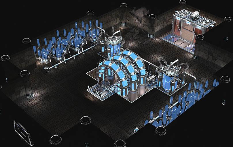 /// | 3d Environment Artist - 3d окружение для игр