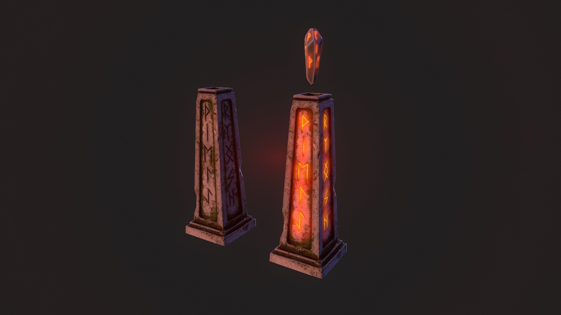 Altar | 3D modeling animation