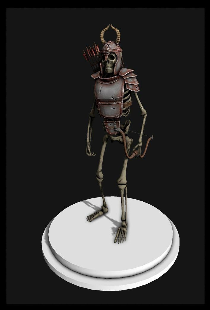 Skeleton | 3D modeling animation